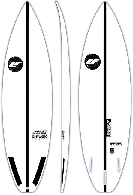 Master Blaster - All wave performance surfboard by LIQUID FREEDOM