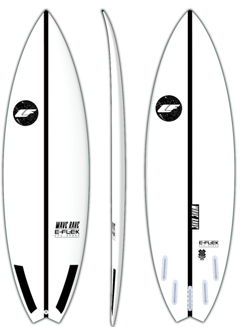 Wave Rave - Small wave performance surfboard by LIQUID FREEDOM