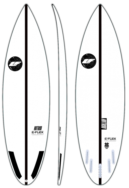 Hotrod - Good wave performance surfboard by LIQUID FREEDOM