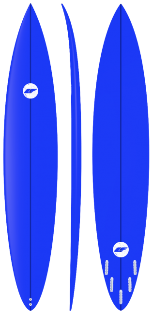 Big wave Surfboard Gun