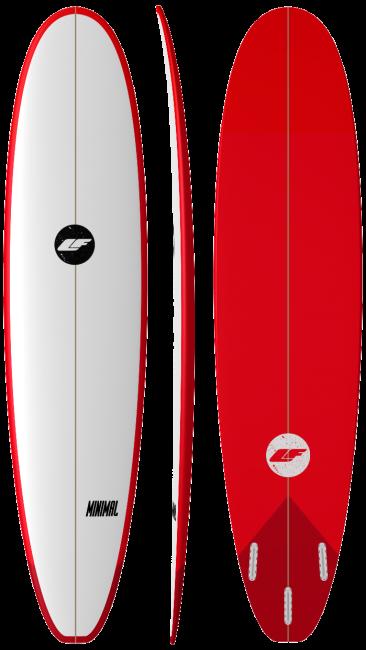 Minimal - All purpose surfboard by LIQUID FREEDOM